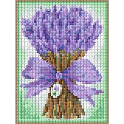 Kit broderie diamant lavender bouquet de Diamond Painting