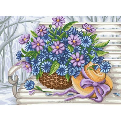 Kit broderie diamant Diamond Painting flowers