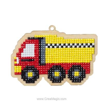 Kit broderie diamant lorry - Wizardi