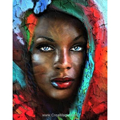Broderie diamant Collection d'art trésor d'afrique