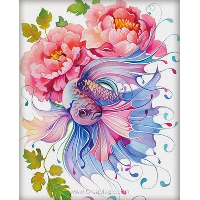 Broderie diamant watercolor fantasy de Diamond Painting