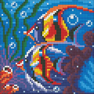 Broderie diamant Diamond Painting sea reef