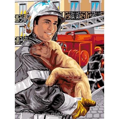 Mimo Verde canevas gratitude - pompier