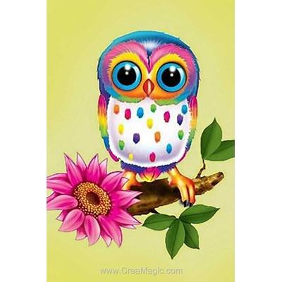 Kit broderie diamant owl maia de Wizardi