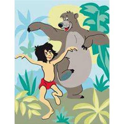 La danse de mowgli et baloo - disney canevas chez DMC