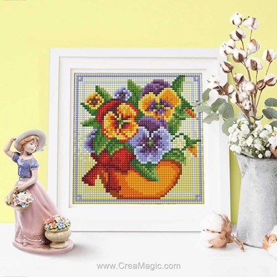 Kit broderie diamant flowers de Diamond Painting