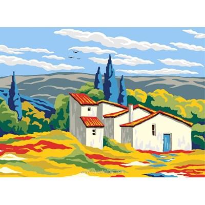 Canevas Collection d'art maisonnette campagnarde
