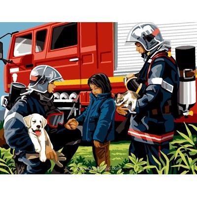 Canevas SEG sauvetage des pompiers