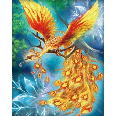 Broderie diamant firebird de Diamond Painting