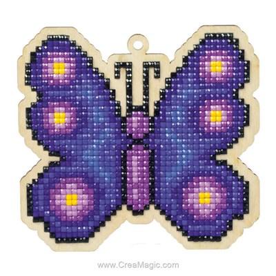 Kit broderie diamant butterfly de Wizardi