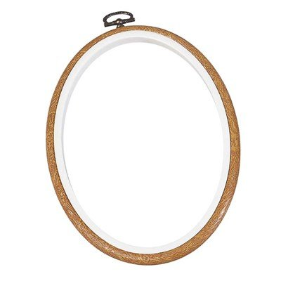 Cadre tambour petit oval Bois - DMC