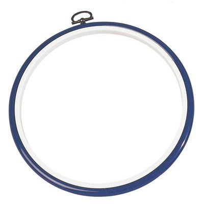 Cadre tambour petit rond Blanc - DMC