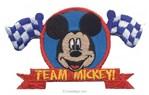 Motif thermocollant Mickey Champion - MotifsThermocollants
