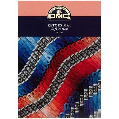 Nuancier - Carte des couleurs DMC Fils Retors art 89 avec brins