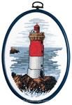 broderie au point de croix Portrait de phare - Royal Paris