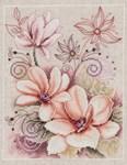 Fleurs pastels - Vervaco