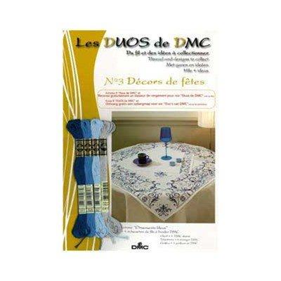 Duo dmc Décors de fêtes - Ornements bleus