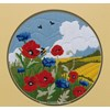 grille au point de croix Poppies & Cornflowers - Anchor - Anchor