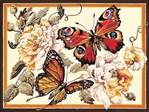 Canevas Fragrance de papillon - SEG