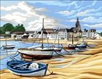Canevas Le Port Breton - Royal Paris