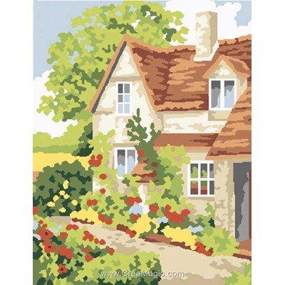 Kit canevas Cottage Way - Anchor