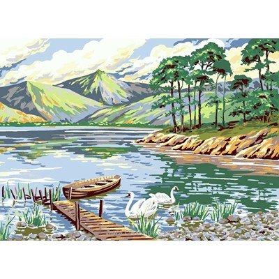 Kit canevas L'embarcadaire, Derwent Water - Anchor