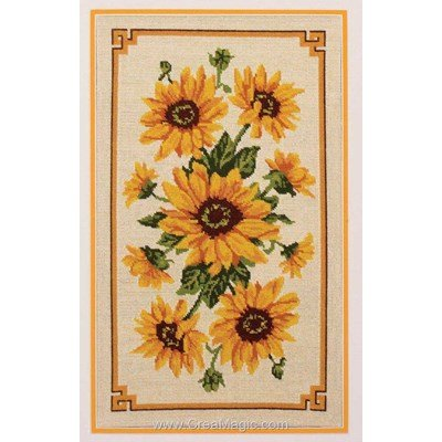 Kit canevas Sunflower Panel - Anchor