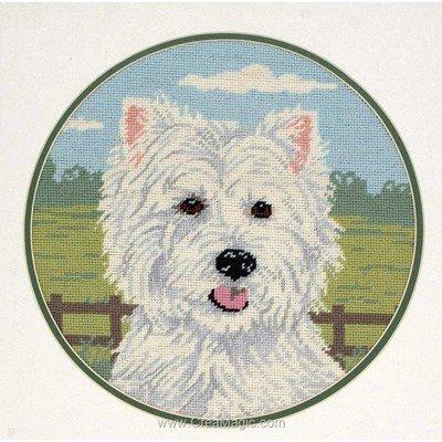 Kit canevas West Highland Terrier - Anchor