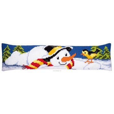 Bas de porte bonhomme de neige - Vervaco