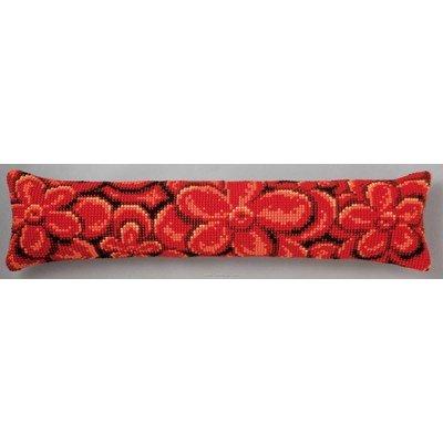 Kit canevas Bas de porte fleur - Vervaco