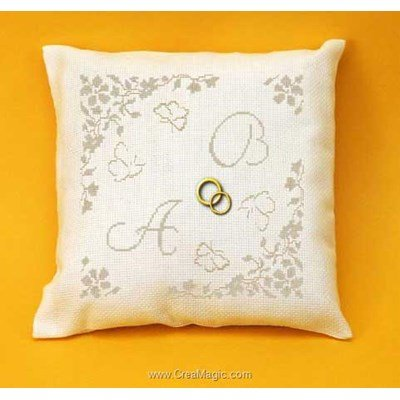 coussin mariage 224 broder creamagic