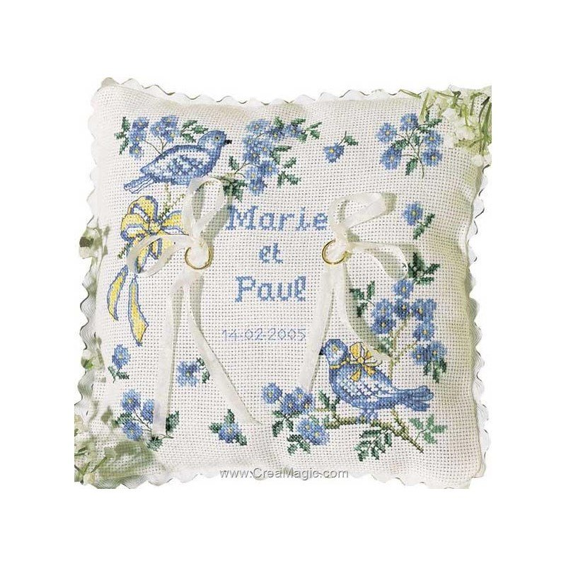 Coussin Mariage A Broder 28 Images Broderie