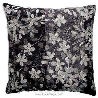 Fleurs noir et blanc - Anchor