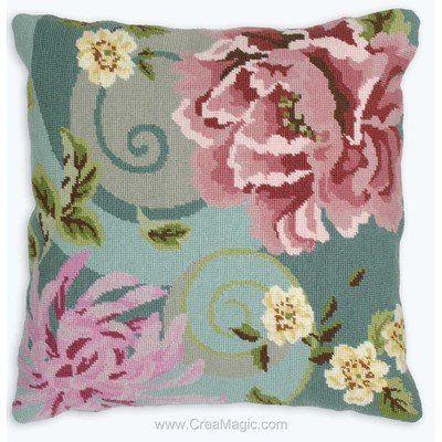 Floral Swirl In Green - Anchor