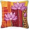 Coussin Fleurs de Lotus - Royal Paris - Royal Paris