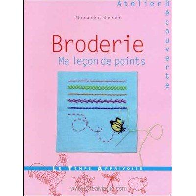 livre Broderie, ma leçon de points - 64 pages - Editions