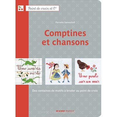 livre Comptines et chansons - 72 pages - Editions
