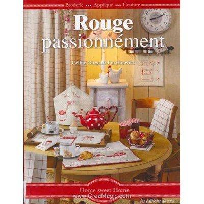 livre Rouge Passionnément - 96 pages - Editions