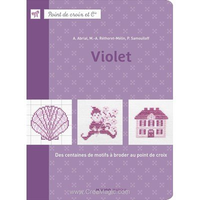 livre Violet - 72 pages - Editions