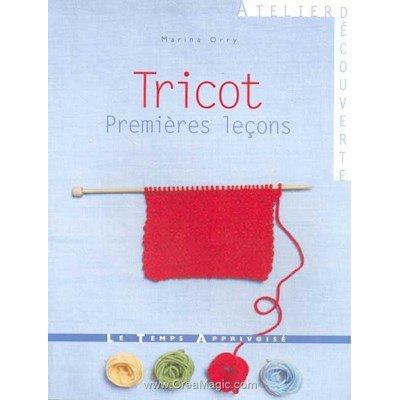 livre Tricot Premières Leçons - 64 pages - Editions