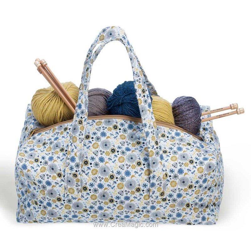 Sac de rangement tricot et couture soft 224 3100 00011 de for Sac rangement couture