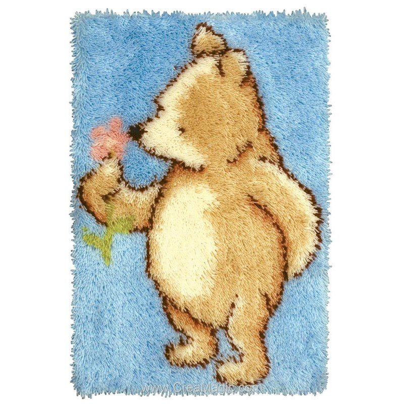 Anchor Tapis Point Nou Winnie L 39 Ourson Classique