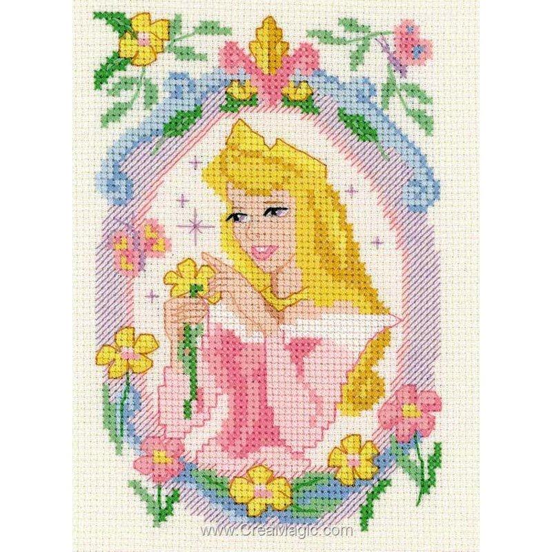 Princesse aurore et les fleurs disney - Royal Paris