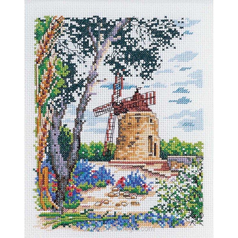 Marie Coeur kit broderie le moulin d'alphonse daudet