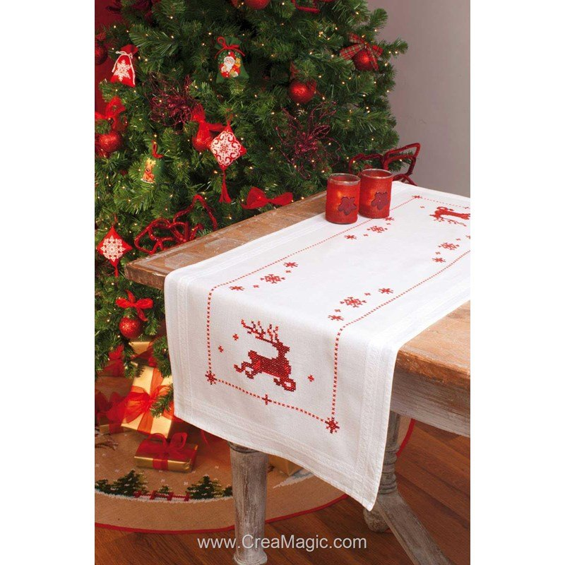 Table de noel traditionnelle conceptions architecturales - Table de noel traditionnelle ...
