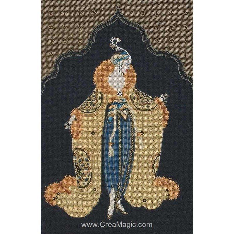 kit tableau maia point de croix le harem moderne i. Black Bedroom Furniture Sets. Home Design Ideas