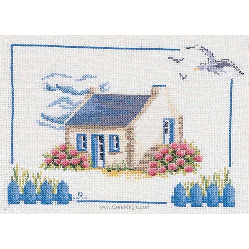Broderie marie coeur en bretagne gm 1972 4283 - Maison point de croix ...
