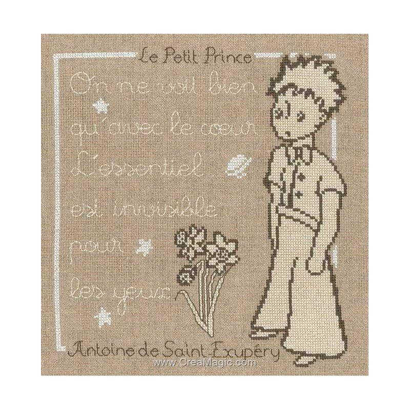 À Petit Point Croix Prince Message Kit En Princesse Le Broder ZnOk80wXNP