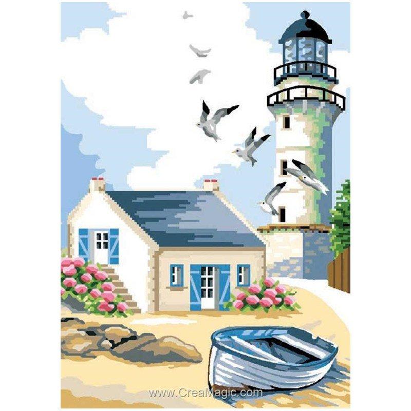 Maison et phare breton 3250 273 chez luc cr ation for Maison et creation