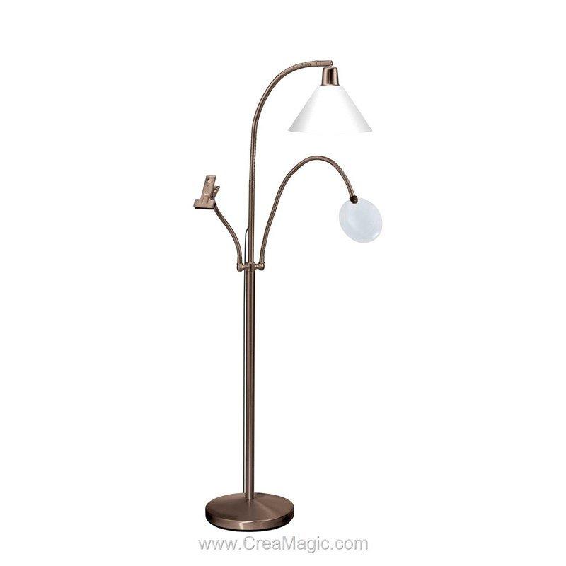 Lampe deluxe sur pied antique e21068 daylight - Lampe sur pied vintage ...